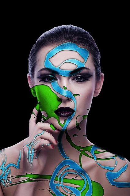 Woman, Model, Makeup, Tribal, Fashion, Portrait