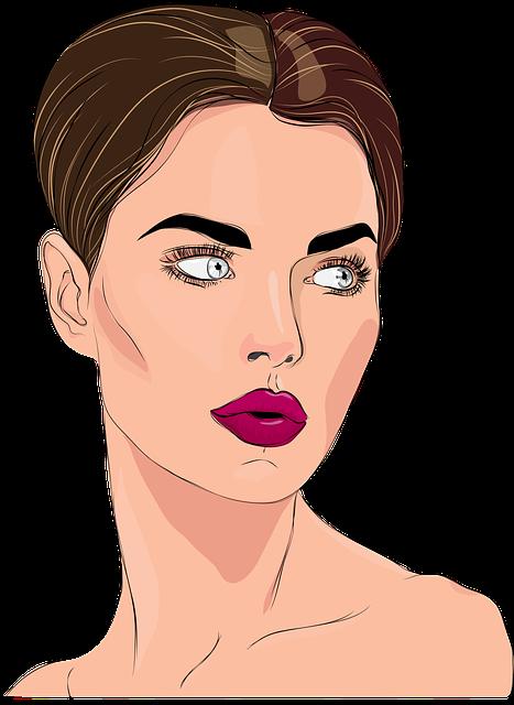 Woman, Face, Portrait, Ms, Beautiful Woman, Makeup