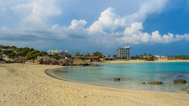 Beach, Sand, Sea, Seashore, Travel, Resort, Makronissos