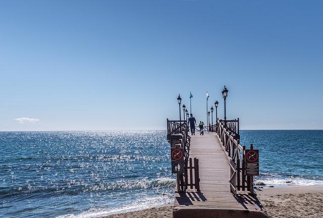 Jetty, Marbella, Marbella Club, Malaga, Andalusia