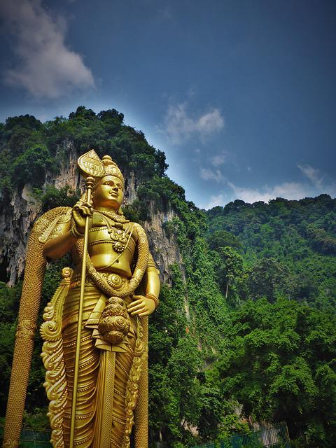 Malaysia, Temple, Hindu, Religion, Asia, Statue