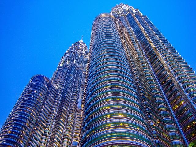 Malaysia, Petronas Twin Towers, Kong Kuala, Petronas