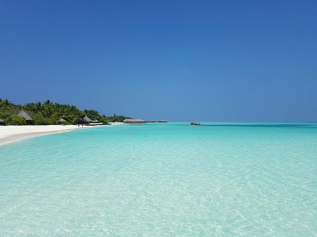 Beach, Atoll, Maldives