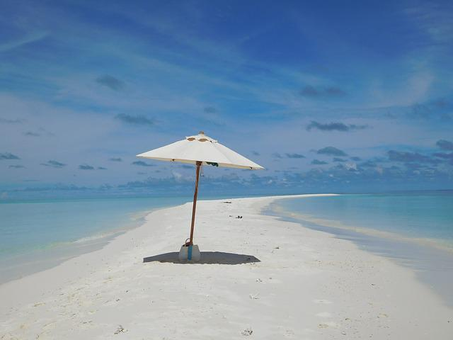 Sea, Island, Landscape, Maldives