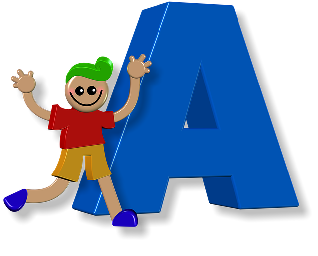 Boy, Male, Alphabet, Letters, Learning, Education