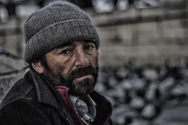 Folk, Adult, Single, Male, Portrait, Cover, Winter