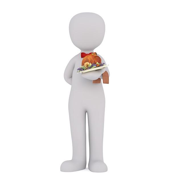Waiter, Work, Profession, Portion, Restaurant, Male