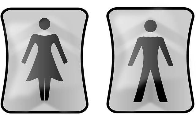 Wc, Toilets, Piktoramy Toilet, Sign, Male, Female