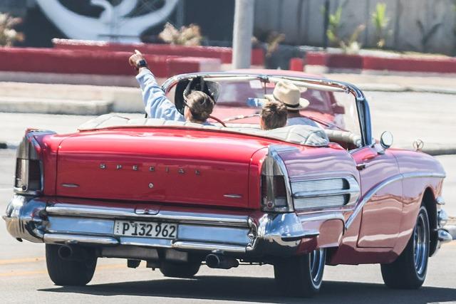 Cuba, Havana, Malecon, Hotel Riviera, Classic