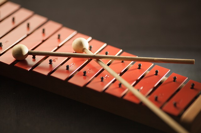 Close-up, Color, Instrument, Mallets, Music