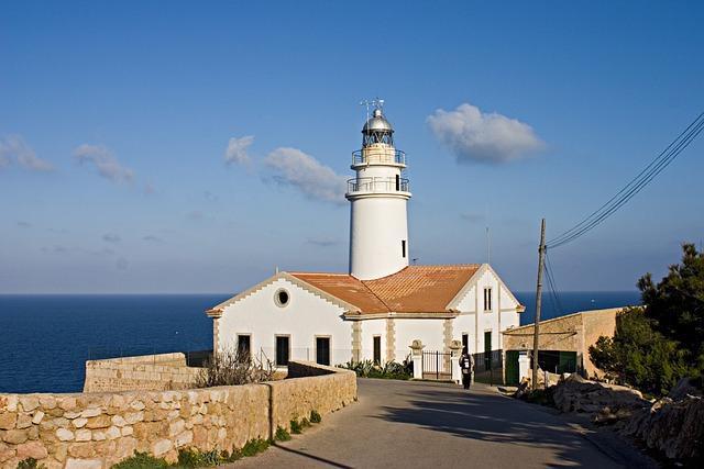 Lighthouse, Mallorca, Balearic Islands