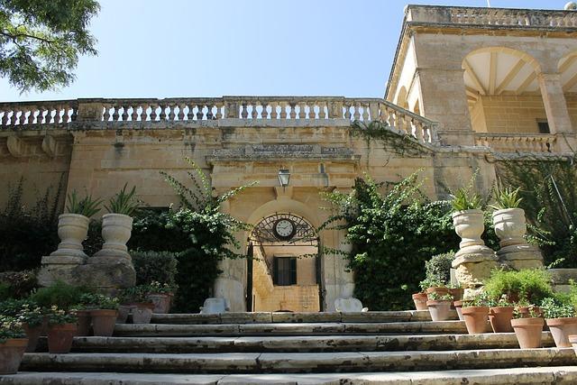 Malta, Red Keep, Building, Entrance, Gate, Door, Keep