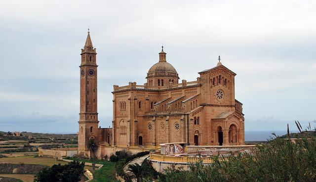 Ta'pinu, Church, Gozo, Malta, Old