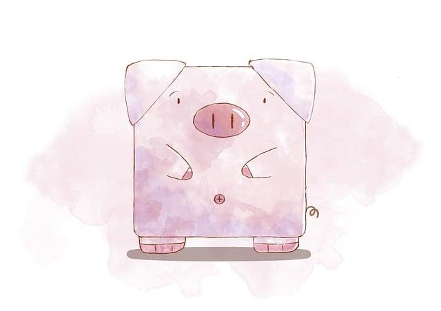 Pig, Cartoon, Animals, Farm, Lovely, Mammal, Funny