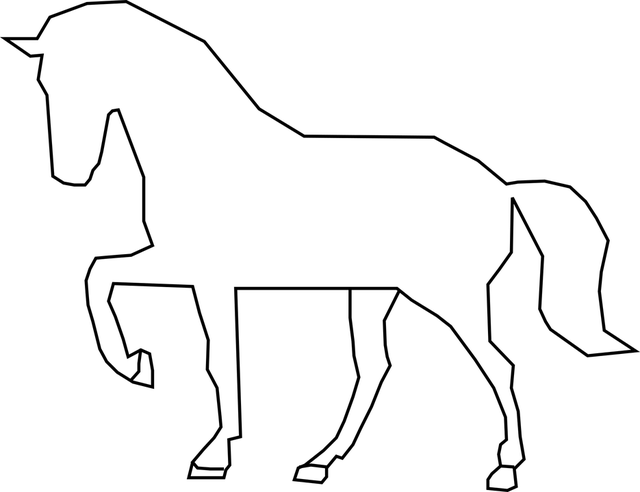 Horse, Stallion, Silhouette, Mammal