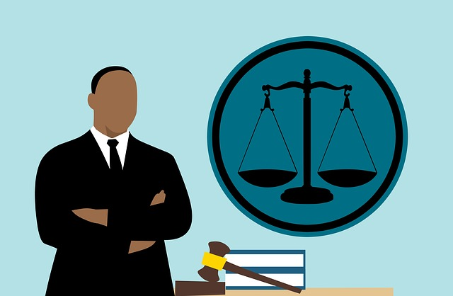 Lawyer, Judge, African, Cartoon, Man, American