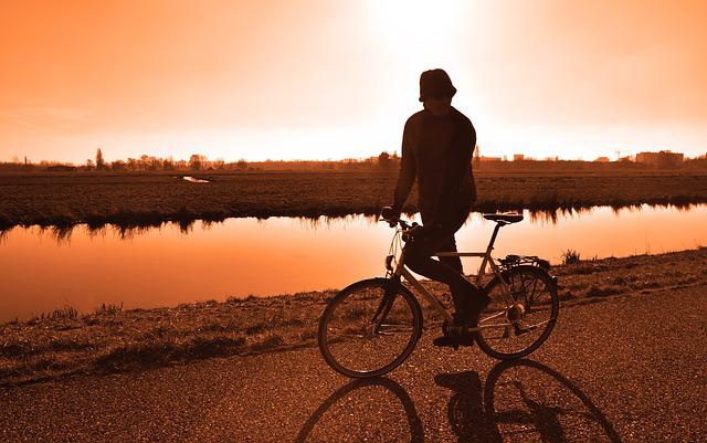 Cyclist, Bicycle, Cycling, Person, Man, Sport, Exercise