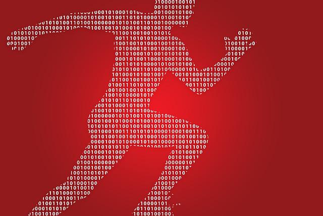 Forward, Man, Race, Digital, Binary, Null, One, Run