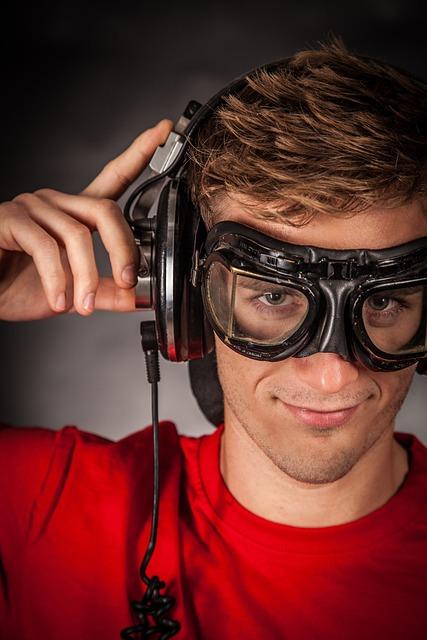 Headphones, Portrait, Face, Music, Man, Pretty, Smile