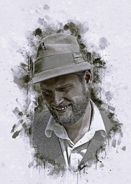 Wild West, Man, Male, Hat, Face, Person, Portrait