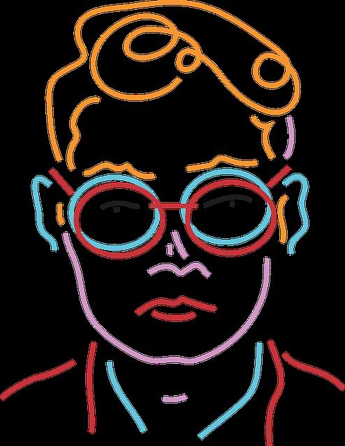Portrait, Aesthetic, Man, Mr, Gentleman, Colorful