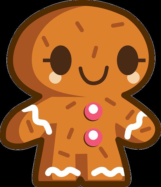Gingerbread, Man, Gingerbread Man, Cookie