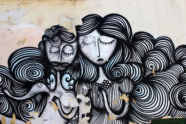 Graffiti, Athena, Hair, Woman, Man, Plan, Lady
