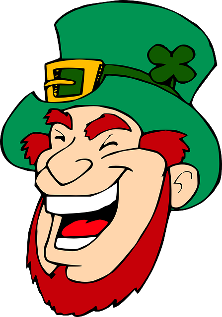 Leprechaun, Laughing, Face, Famous-people, Irish, Man