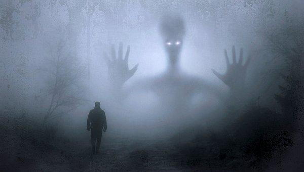 Fantasy, Fog, Creepy, Mystical, Mood, Man, Walk