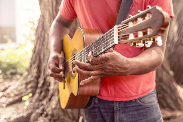 Guitar, Music, Man, Play, Strum, Chord, Acoustic