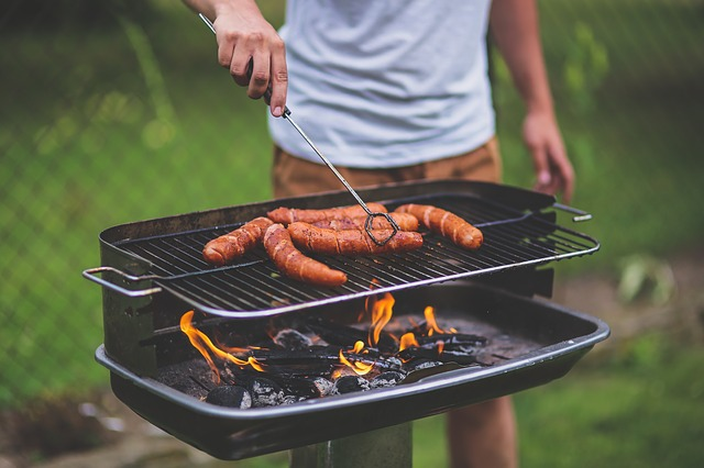 Man, People, Boy, Grill, Grilling, Bbq, Barbecue