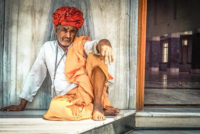 People, Adult, Religion, Sit, Portrait, Man, Travel