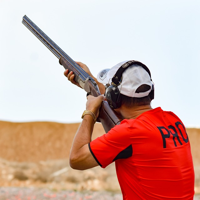 Shooting, Sport, Shoot, Competition, Man, Aiming, Gun
