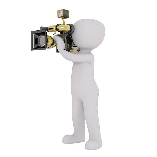Camera, Video Camera, Man, Mr, Turn, Film, Atelier