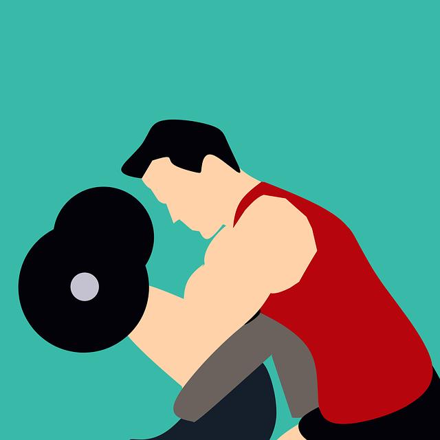 Club, Gym, Man, Sport, Training, Weight, Posing, Muscle