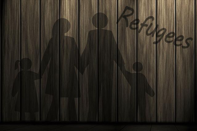 Man, Woman, Children, Refugee, Asylum, Politically