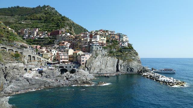 Manarola, Liguria, Italia, Amalfi, Coast