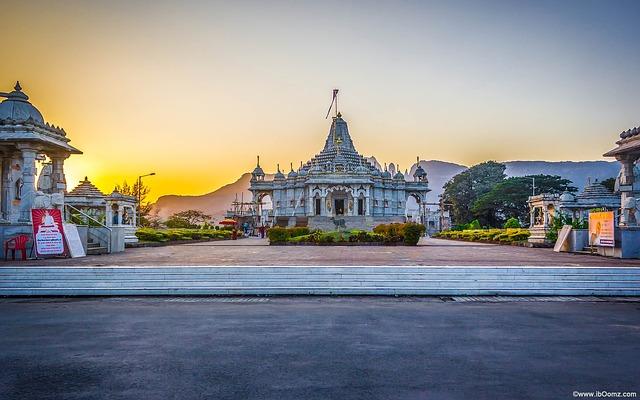 Manas Mandir, Temple, Jain, India, Shahapur, Avinash