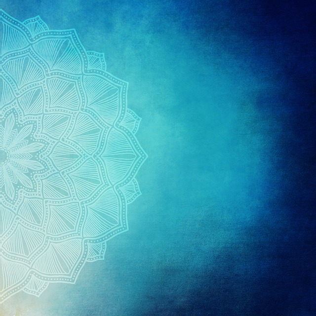 Background, Grunge, Vintage, Paper, Old, Blue, Mandala