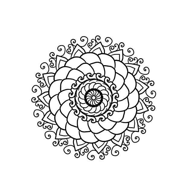 Mandala, Coloring Page, Coloring For Adults