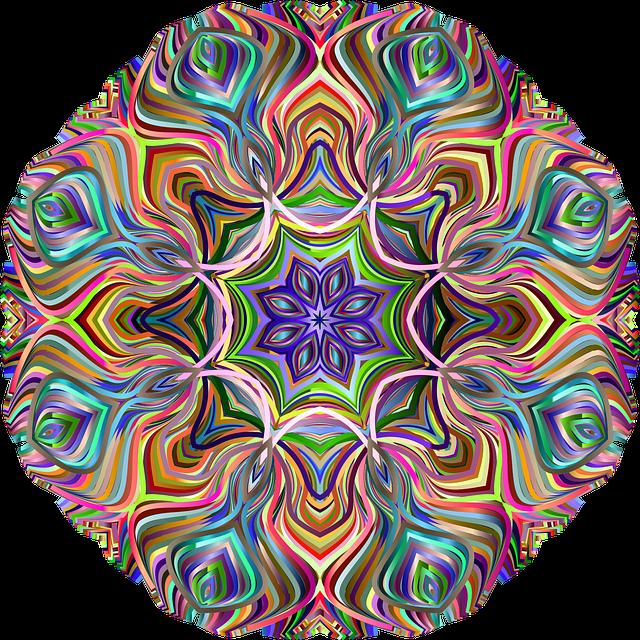 Mandala, Decorative, Line Art, Ornamental, Flourish