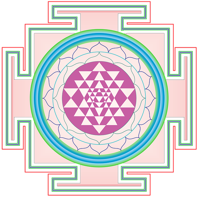 Mandala, Design, Arts, Indian