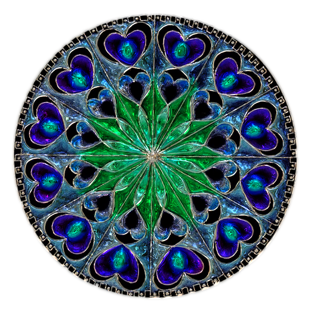 Mandala, Metallizer, Art, Factory, Glass