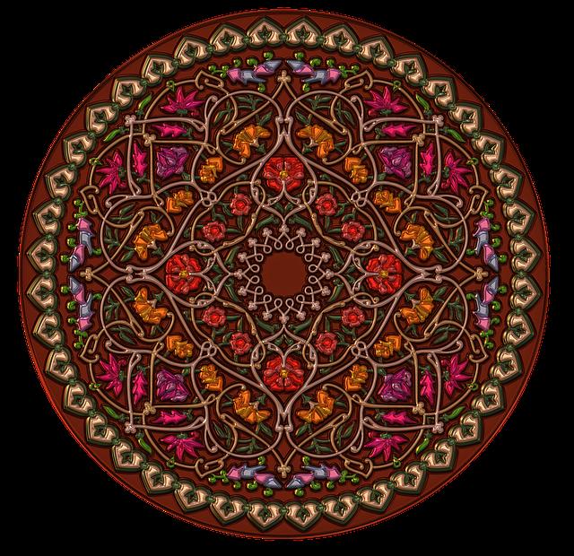 Mandala, Metallizer, Art, Glass, Factory