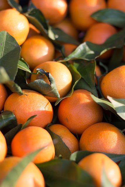 Citrus Fruit, Mandarin, Clementine, Tangerine, Orange