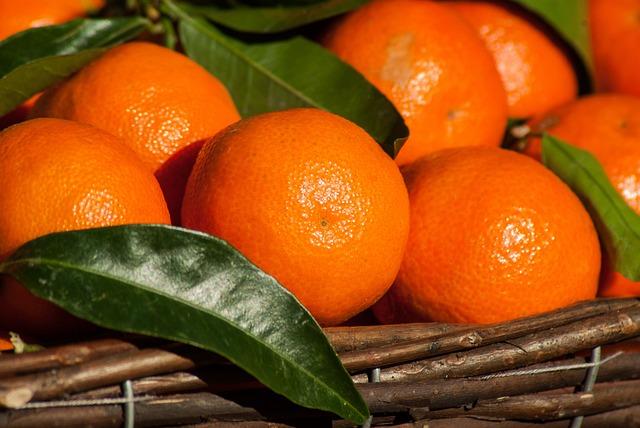 Fruit, Clementines, Citrus, Mandarins