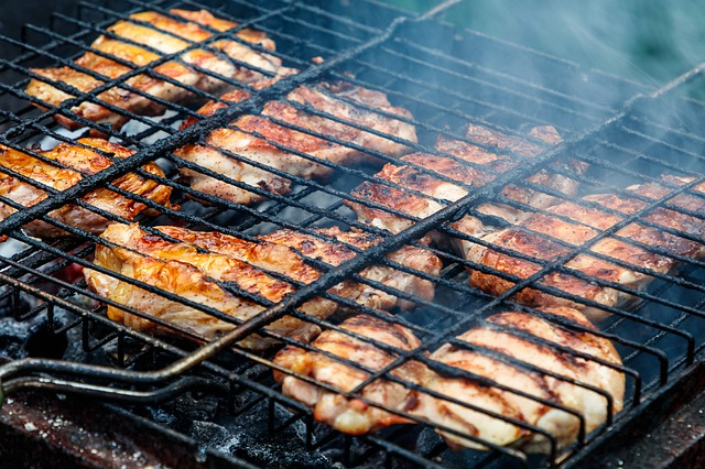 Chicken, Mangal, Grille, Nutrition, Frying, Coals