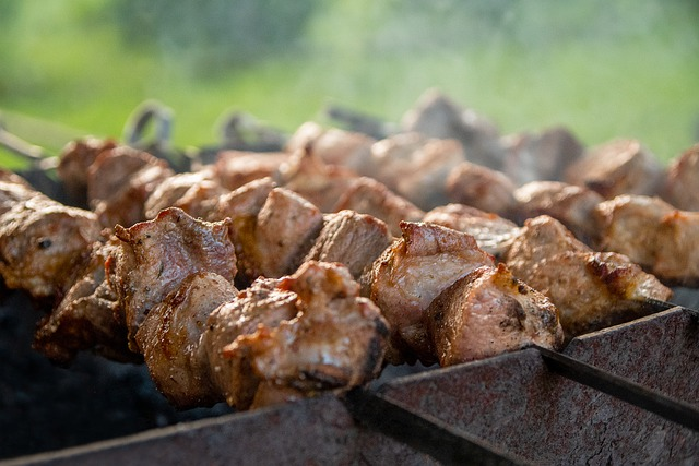 Shish Kebab, Meat, Summer, Mangal, Skewers, Frying