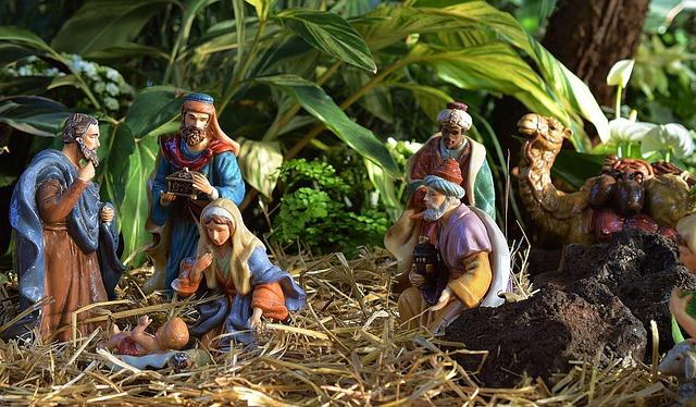 Nativity, Jesus, Manger, Christmas, Religion, Religious
