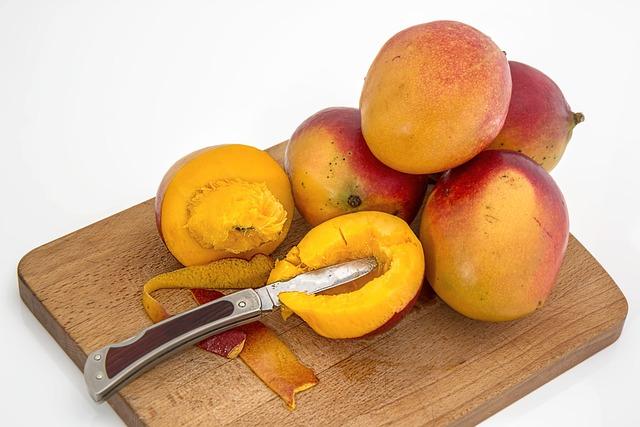 Mango, Tropical Fruit, Juicy, Sweet, Vitamin C, Healthy